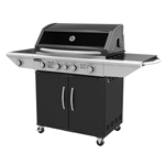 Gasmate Specialist 4 Burner BBQ with Hood and Cabinet
