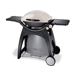 Model Number: 56060124  The big family Weber Q. Perfect for parties and cooks a great roast too! You'll definitely need a large balcony for this one. This large Weber Q uses two burner to provi...