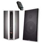 Monster Clarity HD Speakers and Stream Cast Bluetooth Receiver - Silver