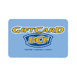 BCF is Australia's leading supplier of boating, camping and fishing products.   Please note: BCF Gift Cards do not expire.