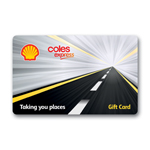 Coles Express Shell $300 Gift Card