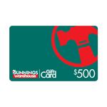 Bunnings $500 Gift Card